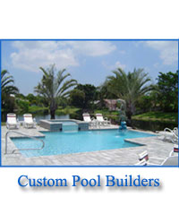 Pools Spas Contractors Construction Fort Lauderdale Swimming Pool Builders
